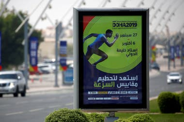 La ciudad de Doha se prepara para el comienzo del mundial de atletismo, el próximo 27 de septiembre