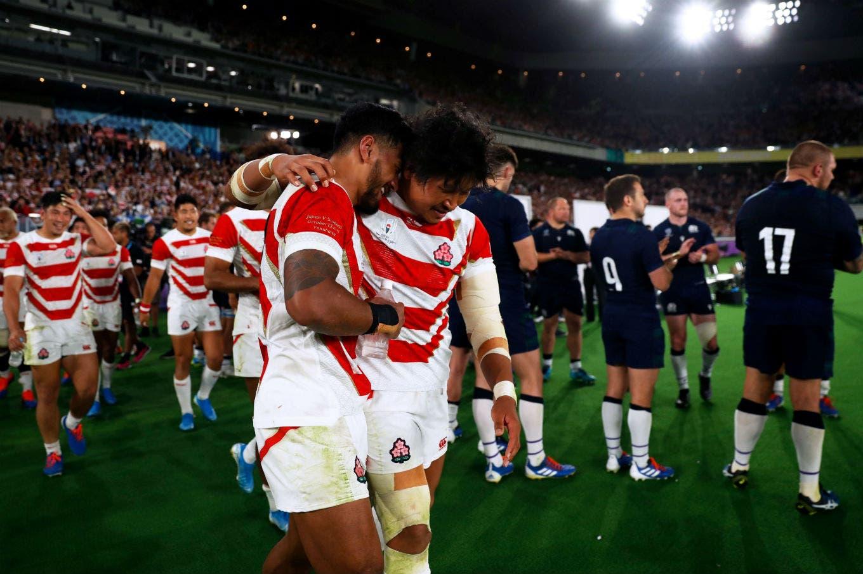 Mundial de rugby. Tras el tifón, Japón hizo historia: eliminó a Escocia y se clasificó por primera vez a cuartos de final