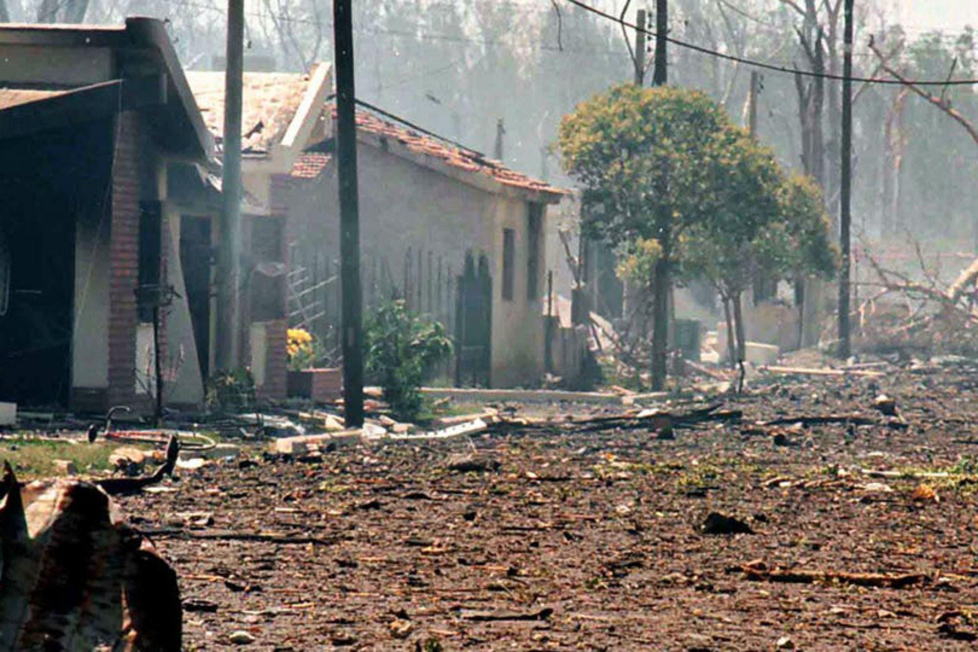 24 años después: Ordenan pagar indemnizaciones por las explosiones de Río Tercero