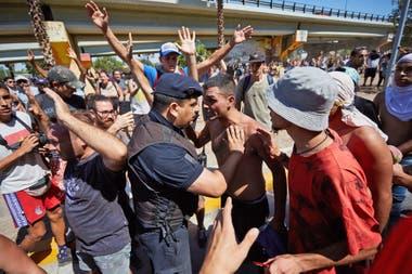 Hubo incidentes tras la marcha en Mendoza contra la ley minera