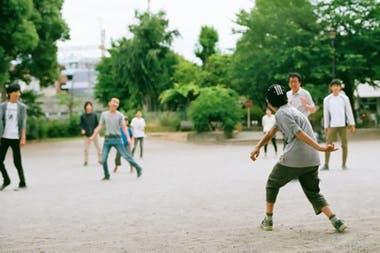 Niños jugando en la escuela Tamagawa