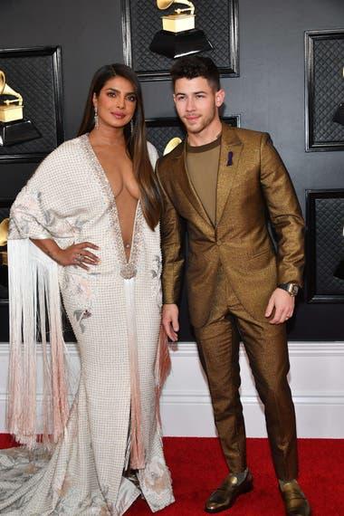 Priyanka Chopra junto a su marido Nick Jonas
