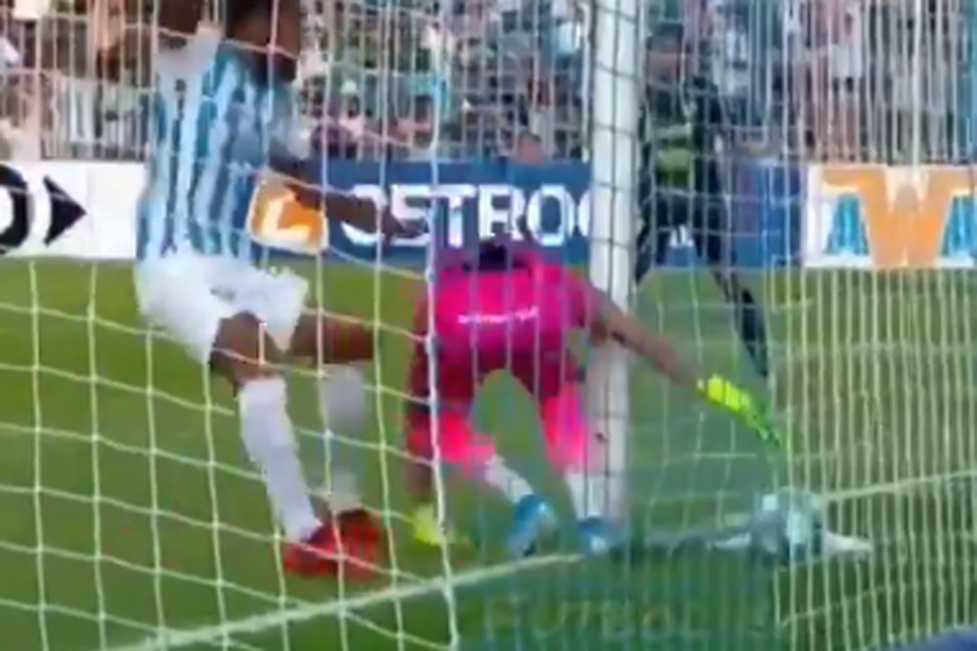 Atlético Tucumán-Defensa y Justicia, Superliga: Unsain, protagonista de un gol en contra nunca visto