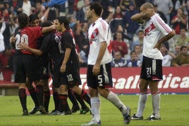 Newells le ganó 4-2 a River en la tarde en la que Ortega por primera vez le marcó al club de sus amores