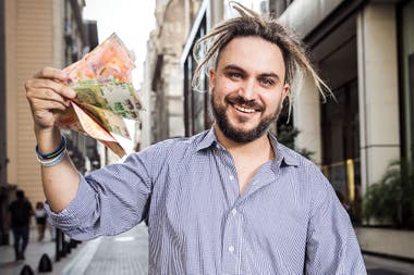 Ramiro Marra, famoso desde hace dos años.