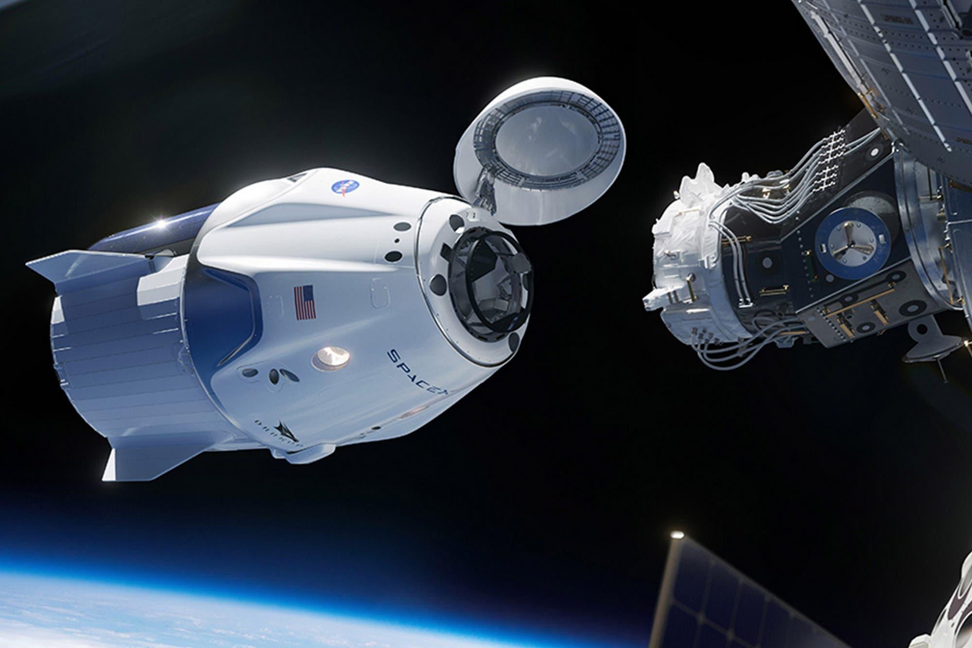 NASA y SpaceX: cuántas horas de viaje tendrá la cápsula Crew Dragon para llegar a la Estación Espacial Internacional