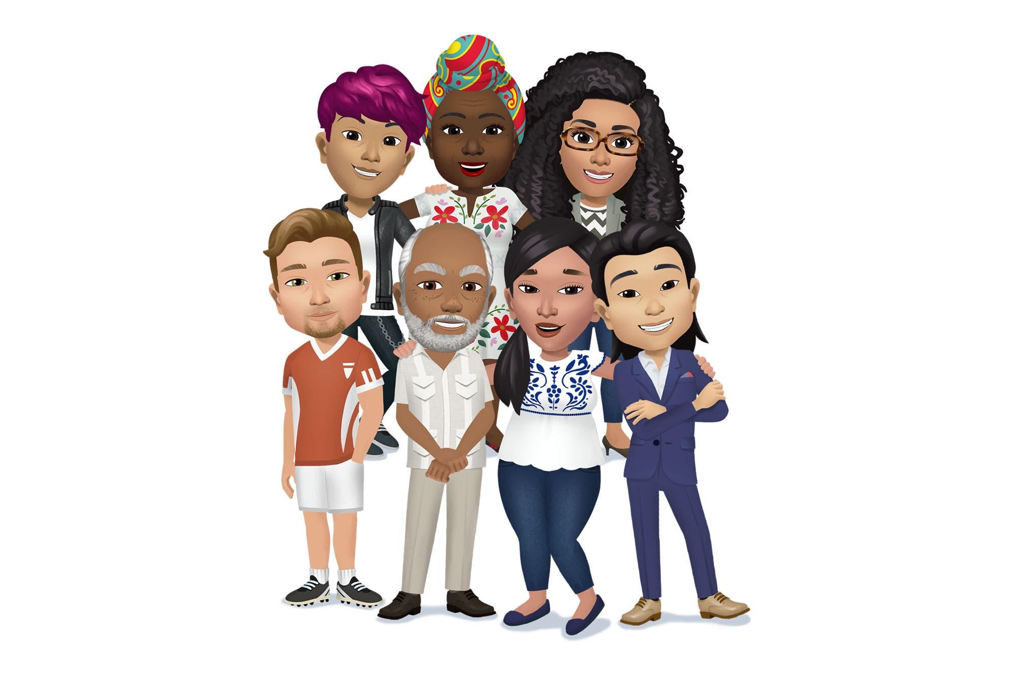 Facebook: cómo crear tu avatar con un personaje digital a medida