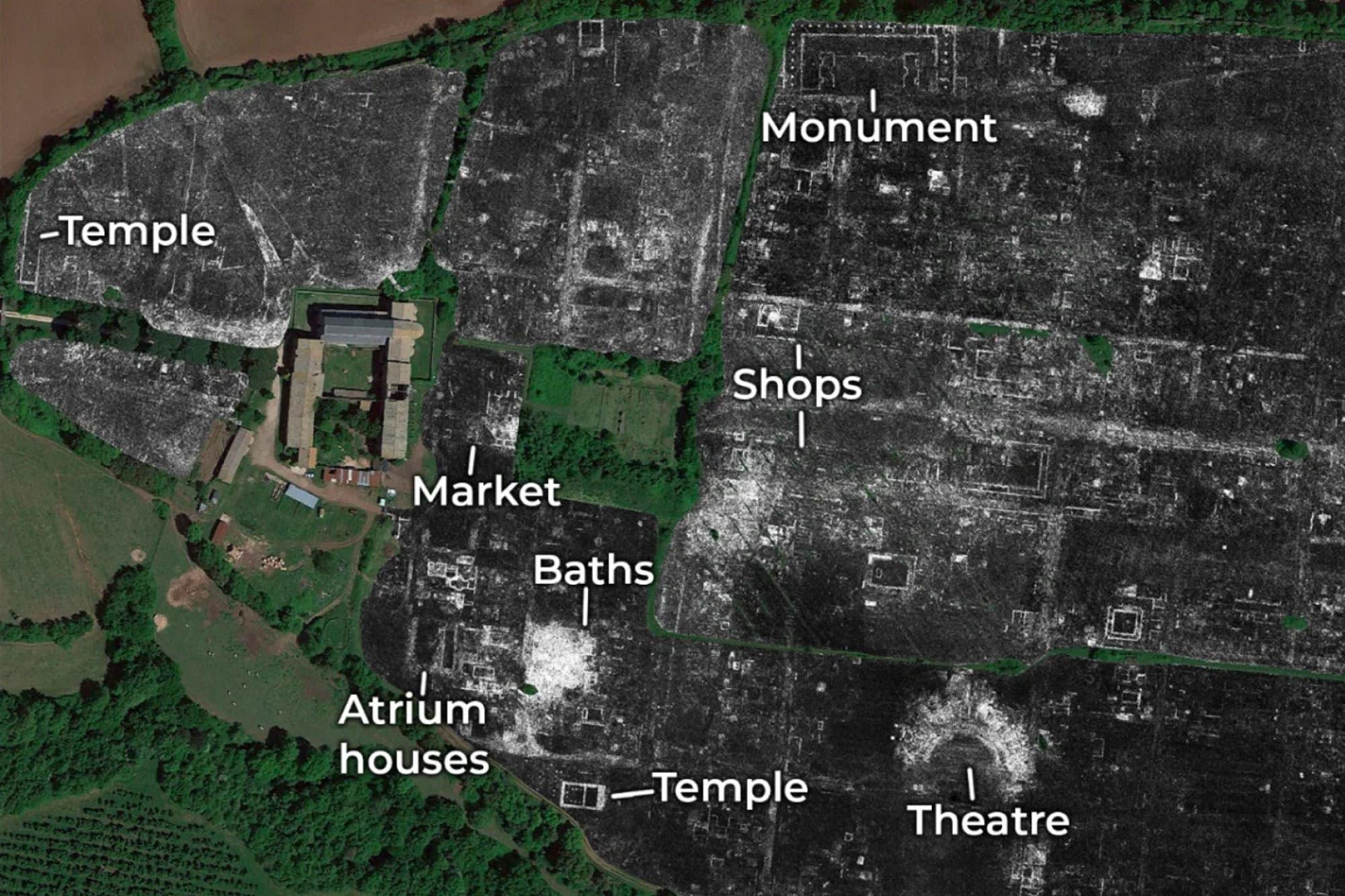 Con georradares, arqueólogos reconstruyen el mapa de una ciudad romana sin excavaciones