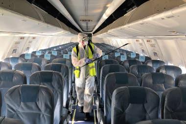 Con cuatro viajes, se reinician los vuelos de cabotaje en Argentina