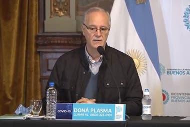Daniel Gollan, ministro de Salud de la provincia de Buenos Aires, criticó la apertura de comercios en la Ciudad