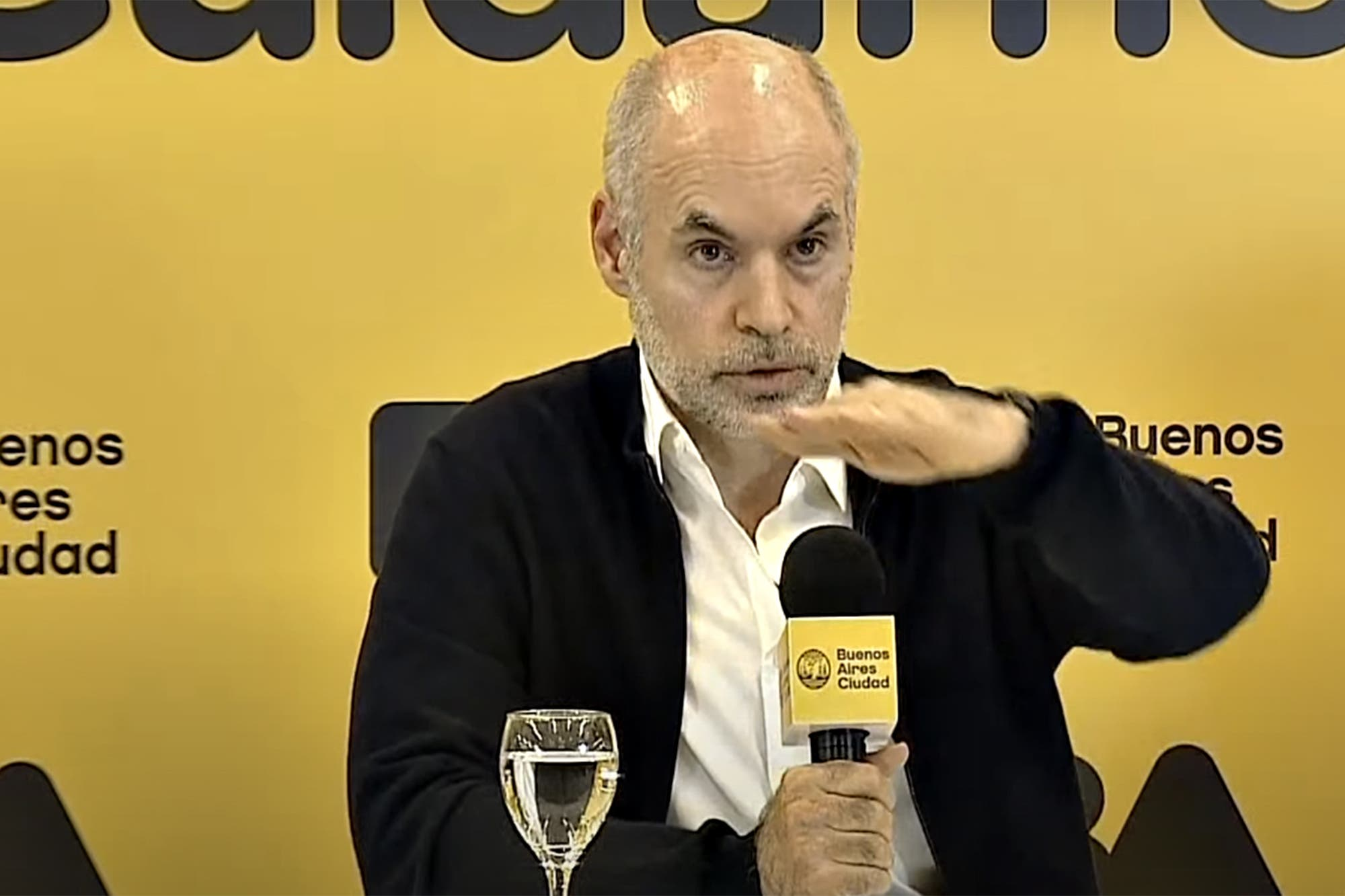 """Horacio Rodríguez Larreta: """"Esperamos llegar a un acuerdo educativo lo antes posible"""""""
