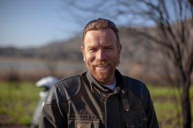 El actor escocés es un apasionado de las motos que en su último viaje hizo una travesía desde la Patagonia hasta California