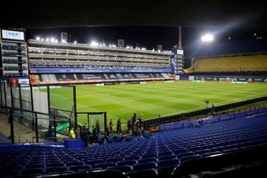 La Bombonera, antes de Argentina vs. Ecuador.