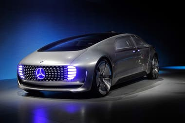 El prototipo autónomo Mercedes-Benz F015 Luxury in Motion