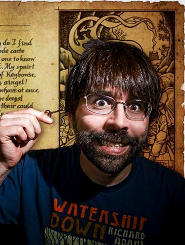 Joe Hill, hijo de Stephen King y autor del comic Locke and Key