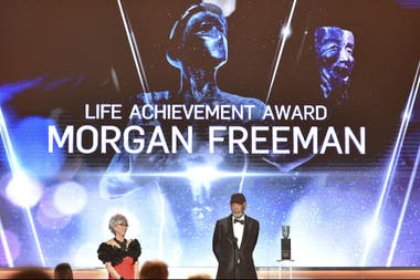 Morgan Freeman, homenajeado