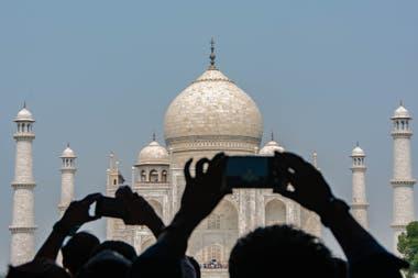 Taj Mahal, en Agra, es el monumento más icónico de India