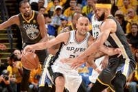 San Antonio Spurs-Golden State Warriors, por los playoffs de la NBA: horario y TV del partido que jugará Manu Ginóbili