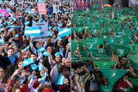 Aborto: en la previa de una sesión histórica, se achica a dos votos la ventaja de los que rechazan el proyecto