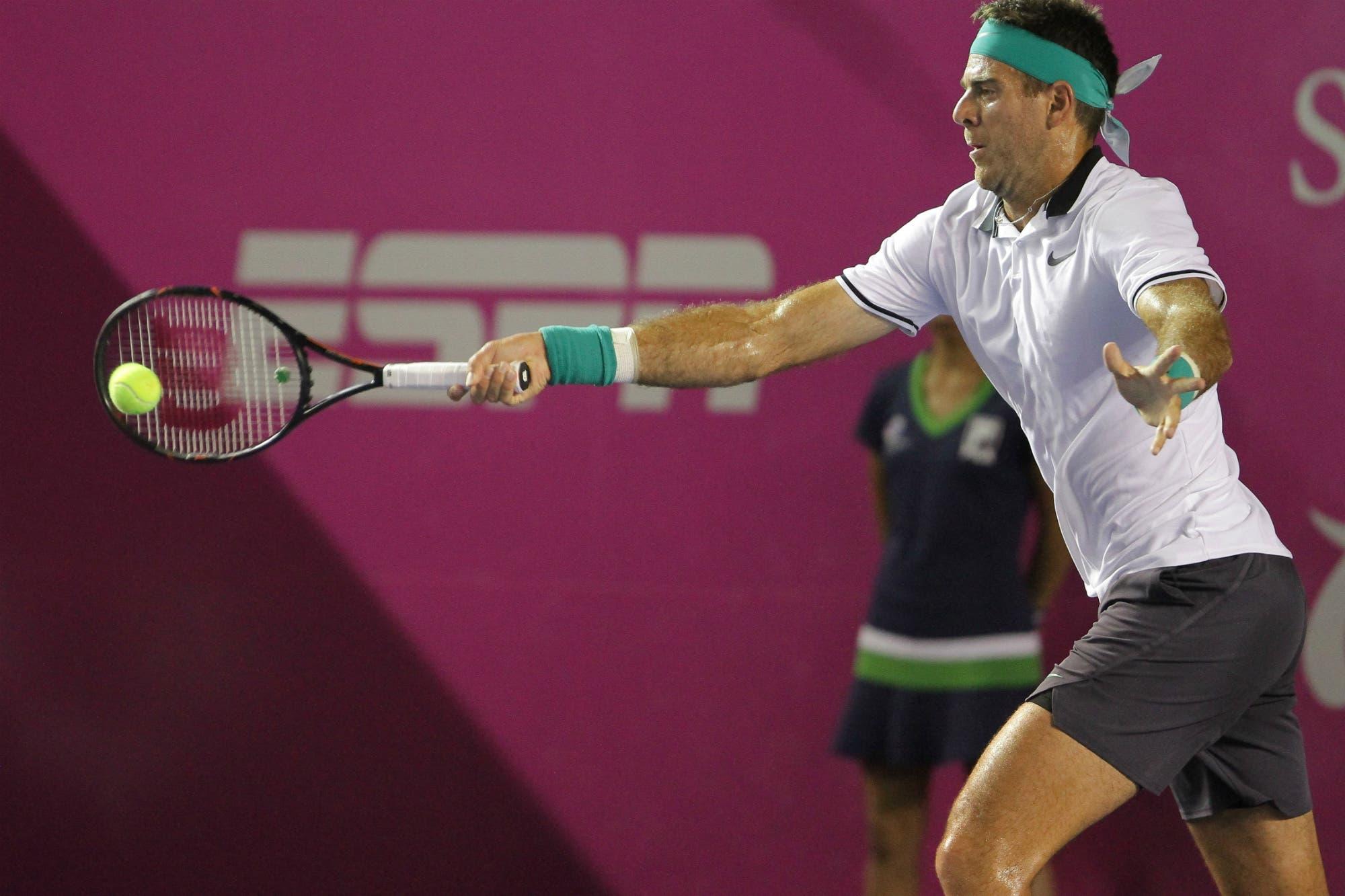 Del Potro cayó con Fognini en la final del ATP 250 de Los Cabos