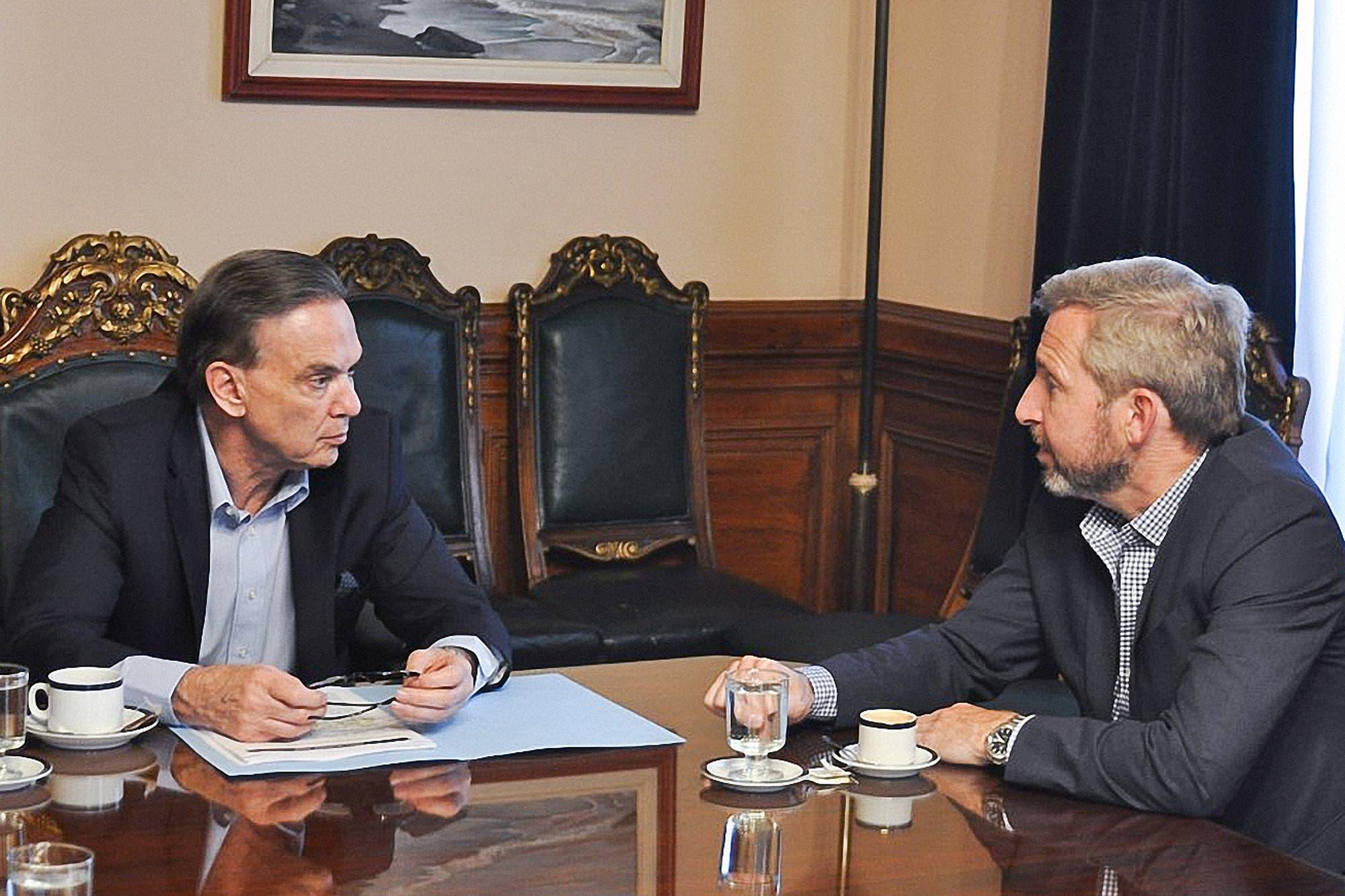 Pichetto en modo campaña: se reúne con Vidal y arranca una gira por las provincias