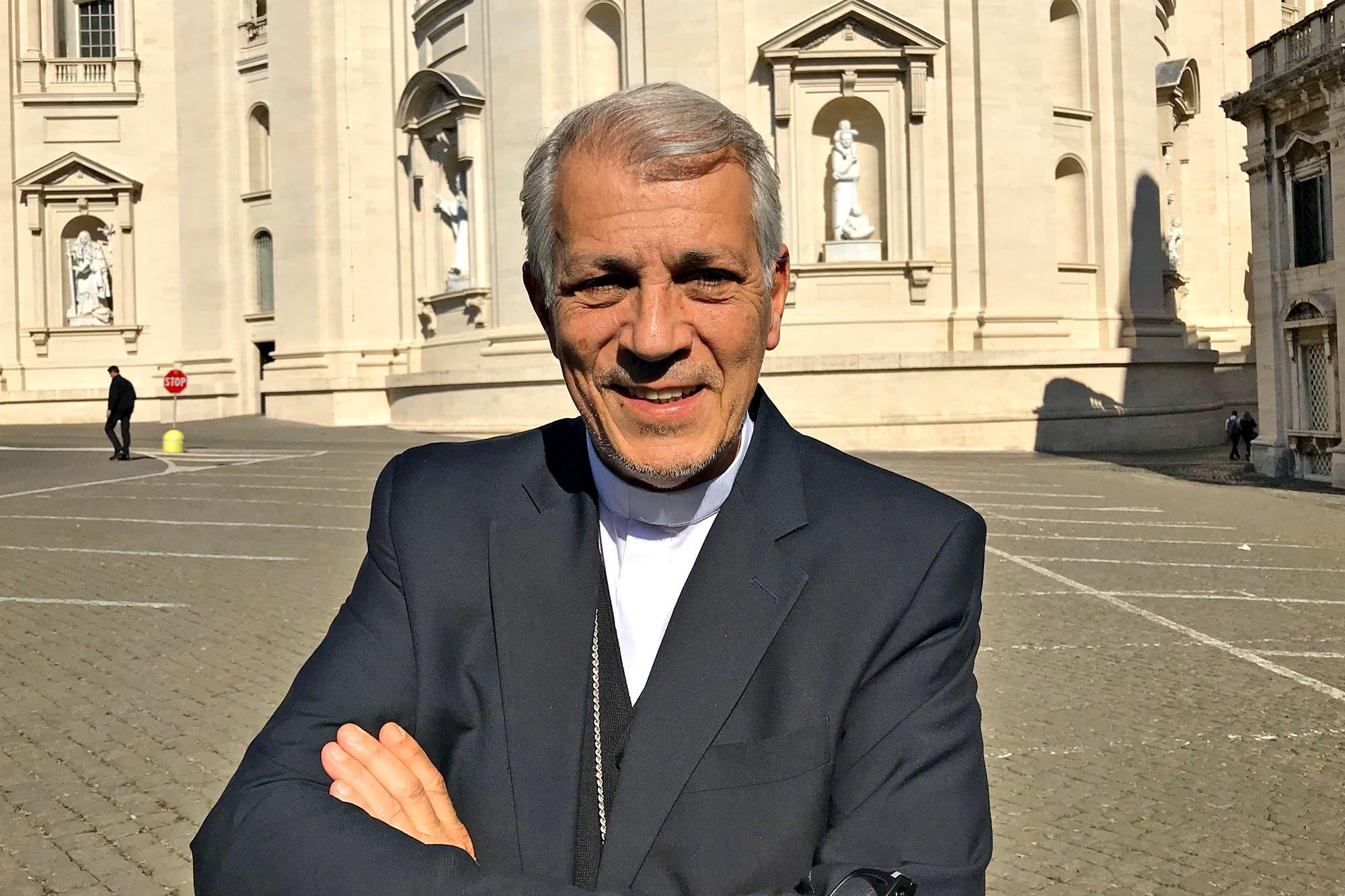 """Eduardo García: """"Hay muchos que utilizan la misa para la foto, pero hay muchos que rezan"""""""