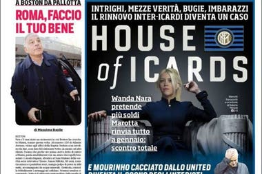 La comparación de Wanda Nara con Claire Underwood de House of Cards