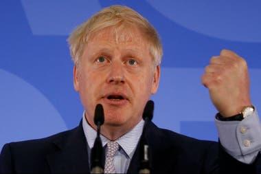En su discurso de lanzamiento de campaña para ser primer ministro, Johnson insistió en que Gran Bretaña debe salir de la UE el próximo 31 de octubre