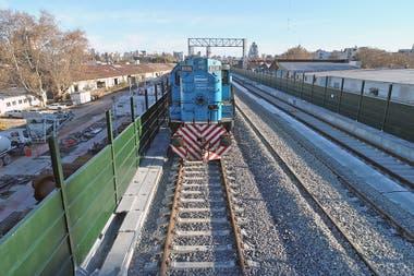 El nuevo recorrido del ferrocarril San Martn