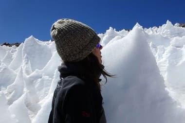 Estas formaciones de hielo pueden alcanzar varios metros de altura