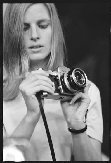 Linda, retratada por Eric Clapton en 1968