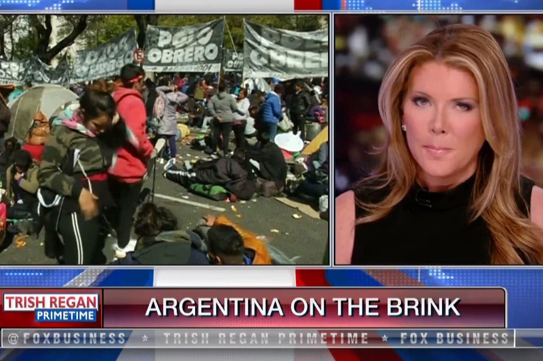 """Para una periodista de Fox News, la Argentina es """"la nueva víctima del socialismo"""""""