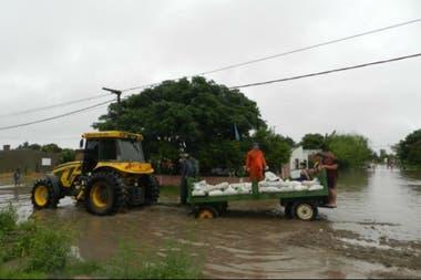Complicaciones en Cacique Ariacaiquín, en San Javier
