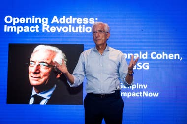 Ronald Cohen, uno de los referentes globales del Mercado de Capitales y presidente de Global Steering Group for Impact Investment (GSG)