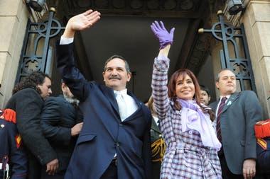 José Alperovich junto a Cristina Kirchner