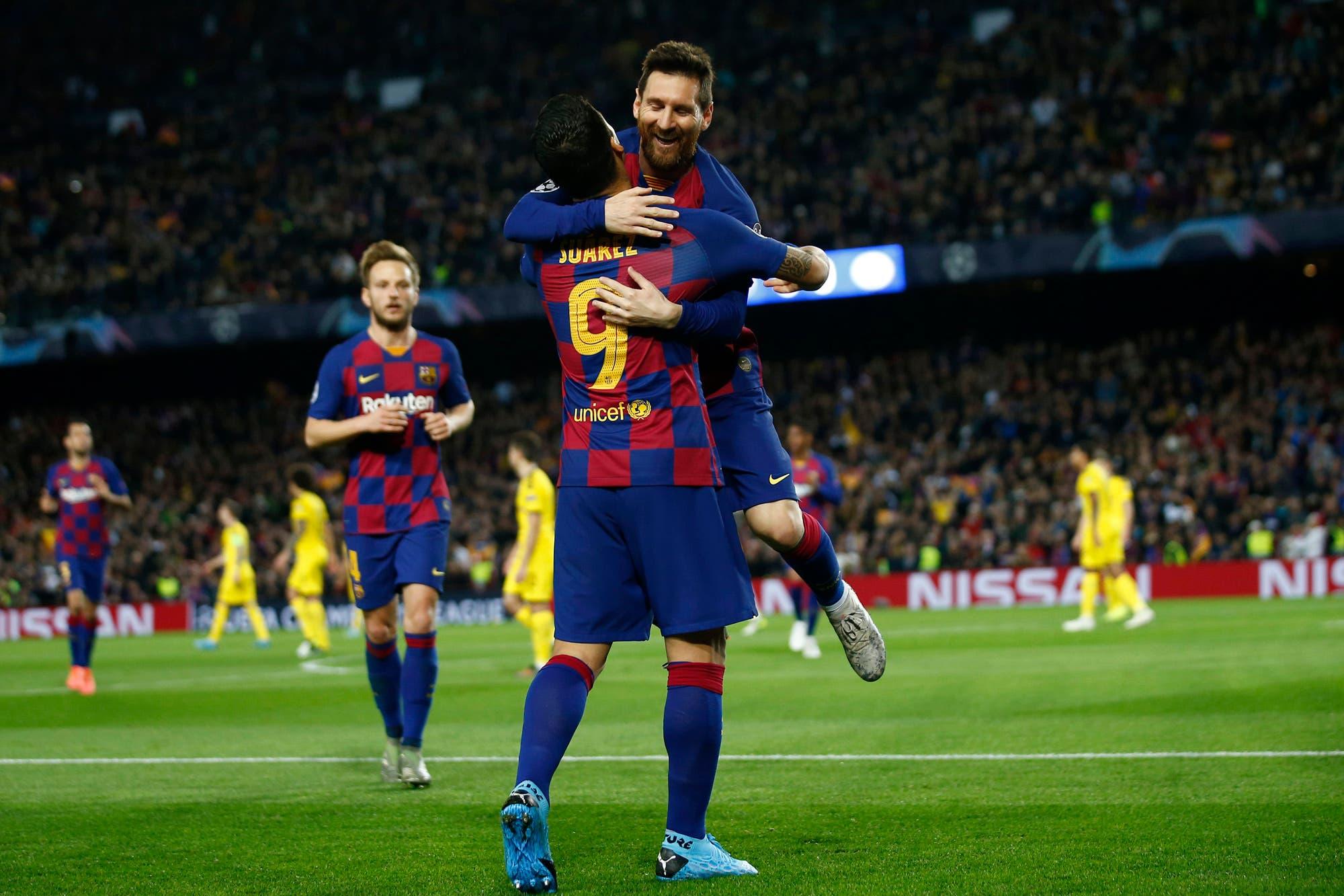 Champions League. Un gol y dos asistencias de Messi en el triunfo y clasificación de Barcelona ante Borussia Dortmund