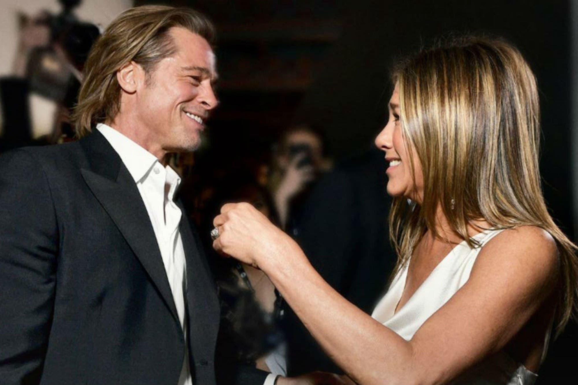 Brad Pitt rompió el silencio, tras su encuentro con Jennifer Aniston en los premios SAG
