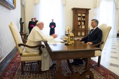 El encuentro con Macri en 2016