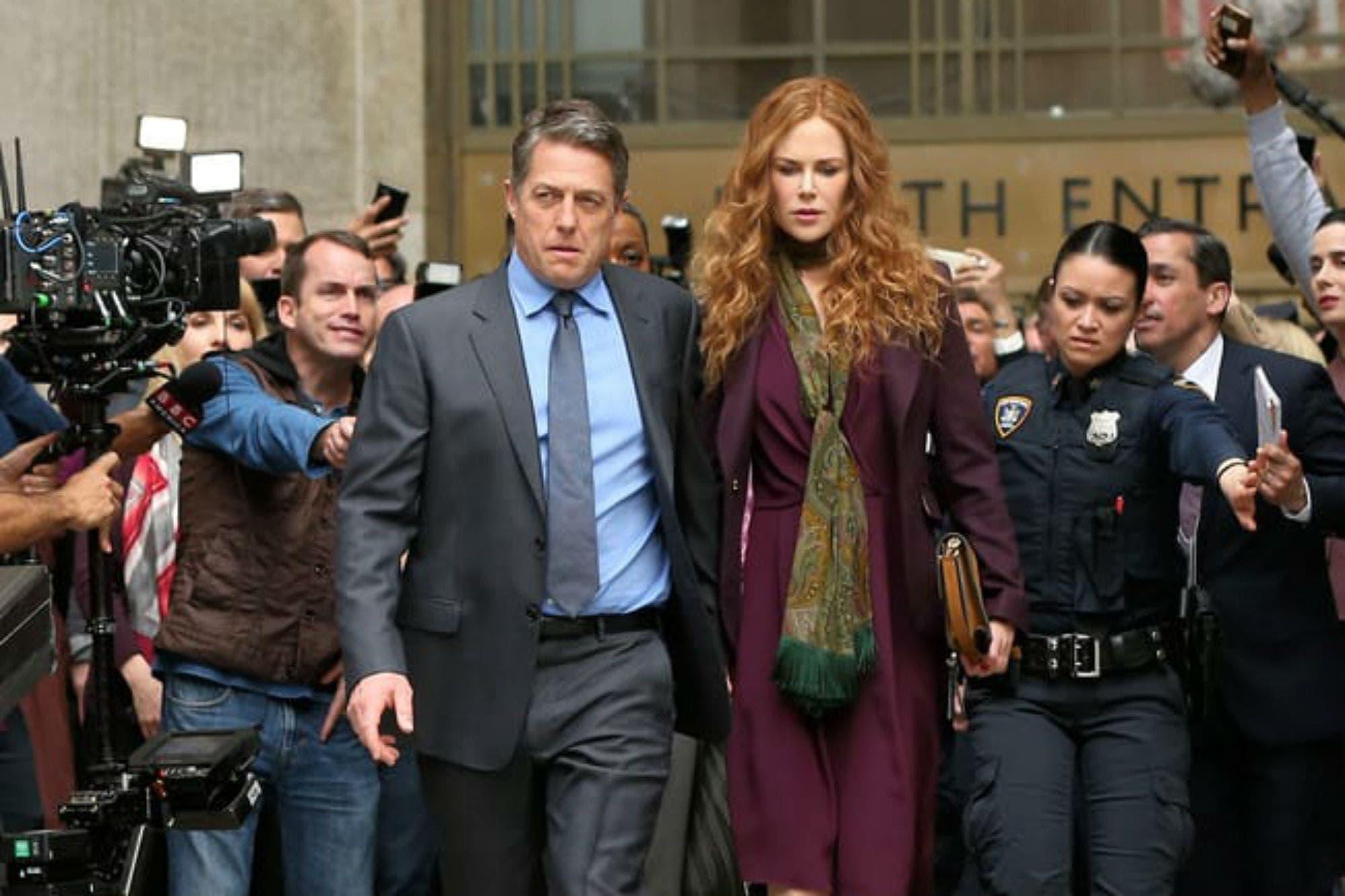Nicole Kidman y Hugh Grant, juntos en una atrapante miniserie del creador de Big Little Lies