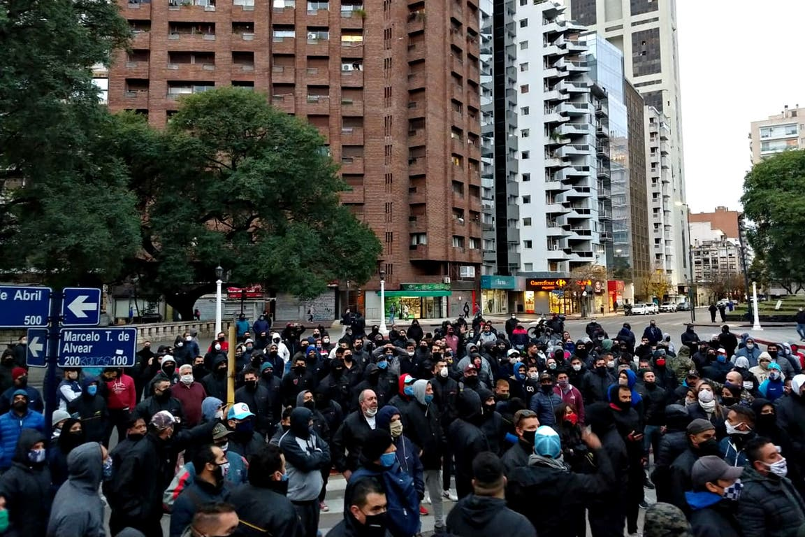 Protesta de UTA en Córdoba