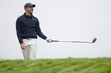 Rory McIlroy, uno de los aspirantes a volver al Nº 1 del mundo esta semana