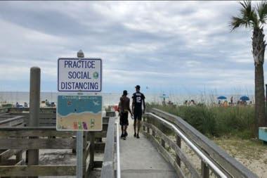 Vacaiones cerca de casa en Estados Unidos: Myrtle Beach, en South Carolina, una de las opciones
