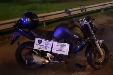 La moto había sido robada en Liniers