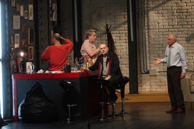 Baraka, otro recordado éxito que dirigió Javier Daulte en la que el cuarteto de actores se volvió a juntar en un escenario