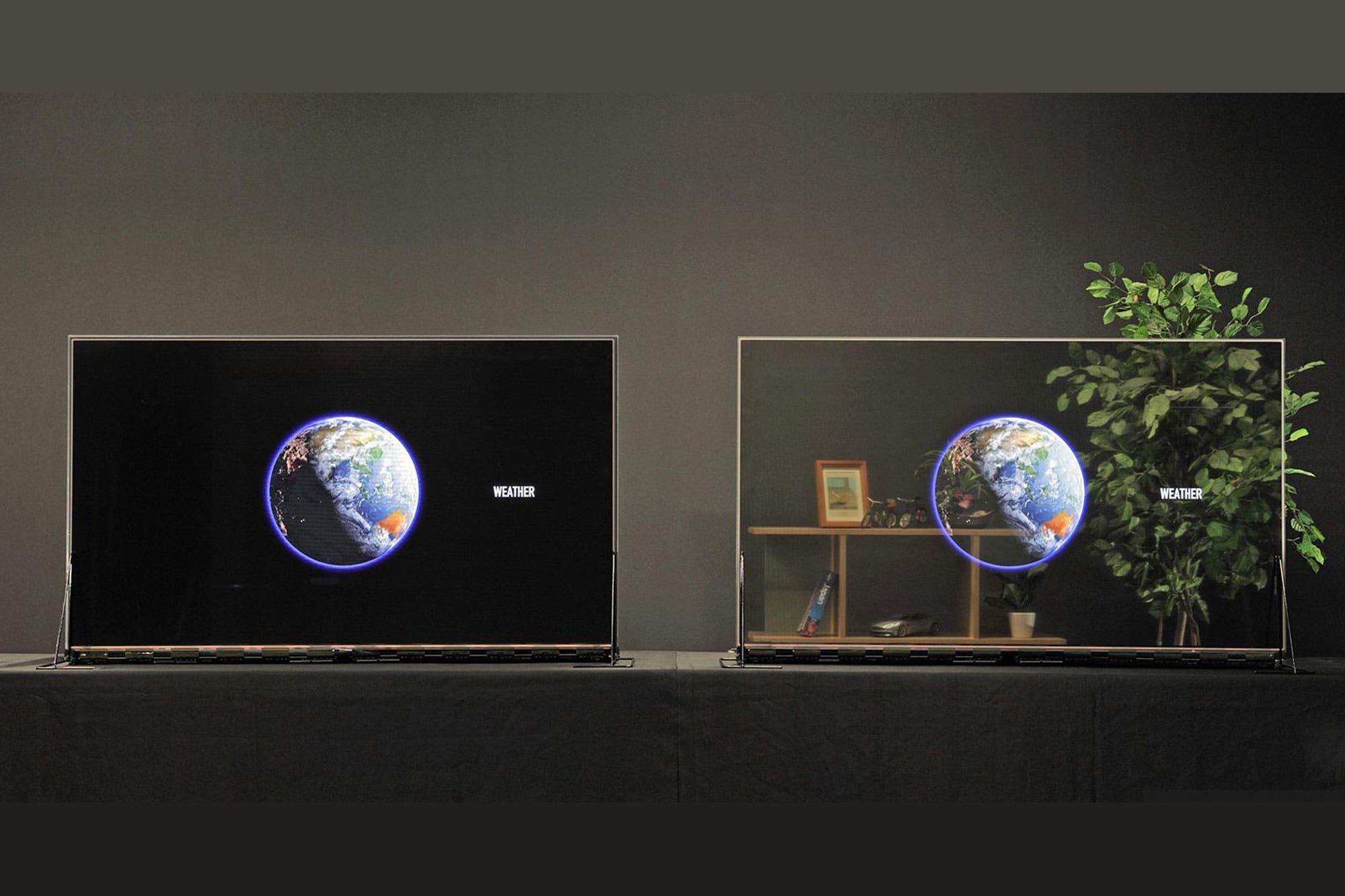 Transparente a demanda: así es el nuevo televisores OLED de Panasonic