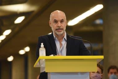 """Horacio Rodríguez Larreta: """"Nos quieren hacer arrodillar"""" - LA NACION"""