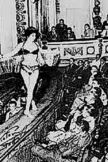 Durante décadas fue teatro de revistas y sala de espectáculos picarescos