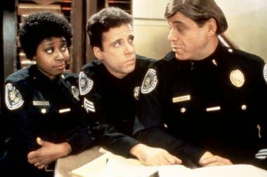 Marion Ramsey en una escena de Locademia de policía