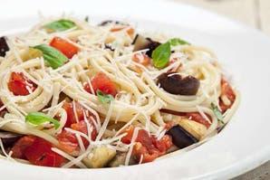 Spaghettis a la siracusana