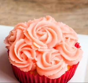 Cupcakes de frutos rojos